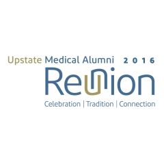 Logo for SUNY Upstate Medical Alumni Reunion