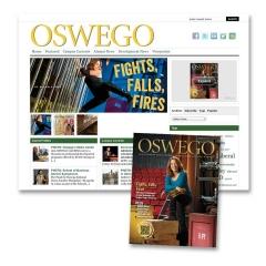 Oswego Alumni Magazine Online