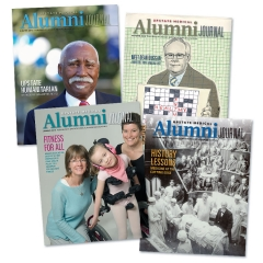 Upstate Medical Alumni Journal. Click for more.